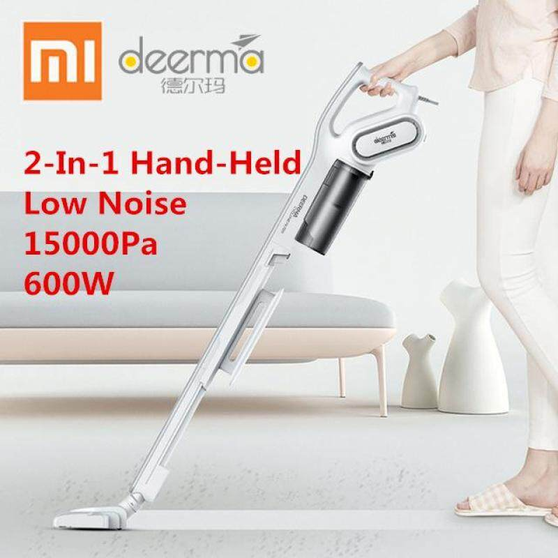 Deerma DX700 2-In-1 Handheld Vacuum Cleaner With Large Capacity Dust Box Low Noise Triple Filter Vertical Dust Collector Singapore