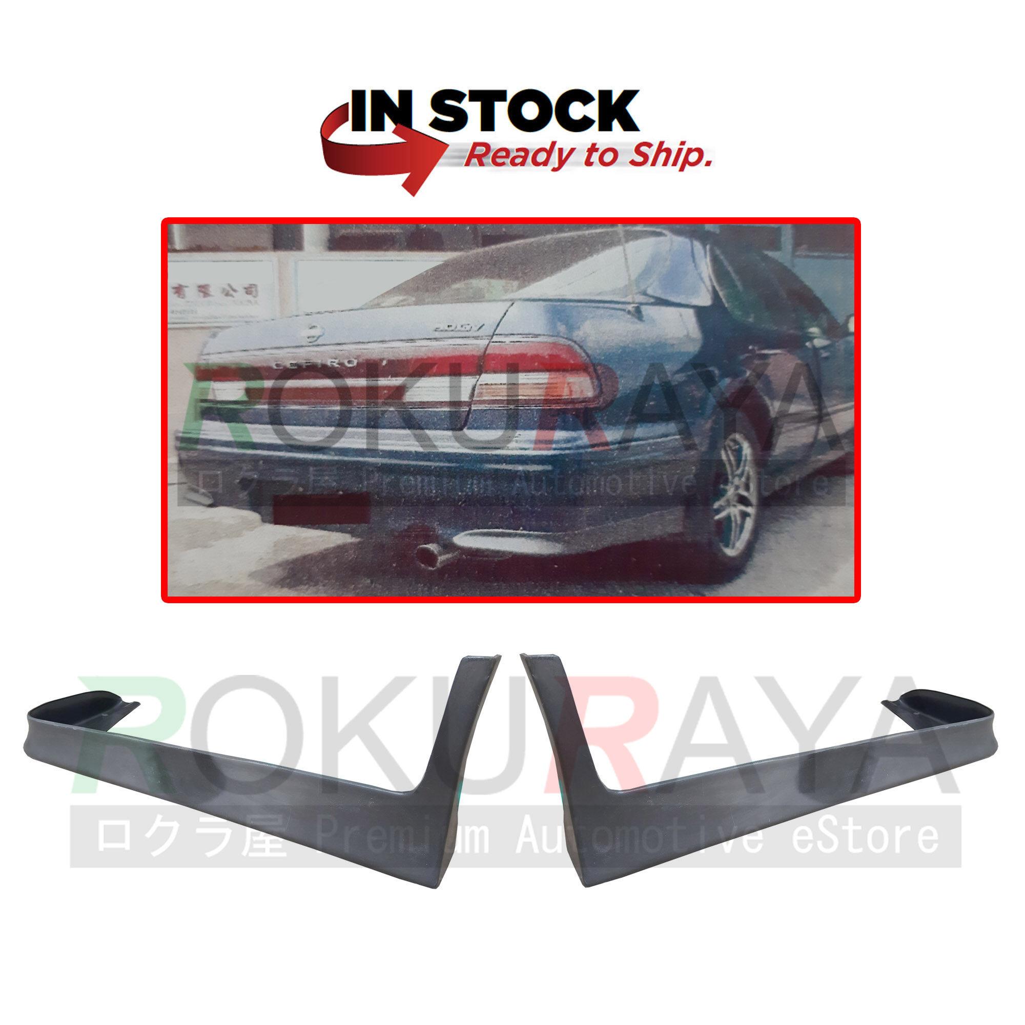 Nissan Cefiro A32 1994 1997 Rear Back Skirt Skirting Bumper Lower Lip Spoiler Polyurethane Pu Bodykit Body Kit Part Raw Material Rubber State Lazada