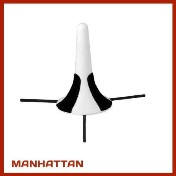 [ MANHATTAN ] Portable Trumpet Tripod Stand Holder Support ABS Material with Detachable Metal Leg (White) Malaysia
