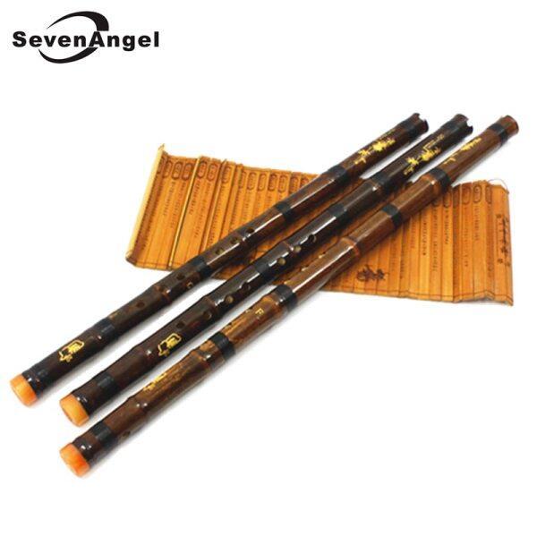 Sáo Tre Màu Tím Chuyên Nghiệp Xiao Nhạc Cụ Truyền Thống Trung Quốc Cổ Điển Piccolo Shakuhachi Dizi Xiao