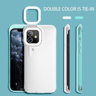 HOCE Ốp Điện Thoại Sạc Pin Đèn LED Tự Sướng Dành Cho iPhone 12 11 Pro Max Ốp Đèn Flash Hình Nhẫn Làm Đẹp Ổn Định Vỏ, Dành Cho iPhone 12 11 Pro Max X XS Max XR 8 7 6S 6 Plus Trường Hợp Phụ Kiện thumbnail