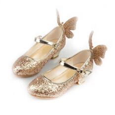 Giày Trẻ Em AlaNyse Giày Đế Bằng Gót Cho Bé Gái Xăng Đan Cô Gái Giày Công Chúa Cao Giá Rẻ 2020 Giày Công Chúa Ngoại Cỡ Đông Lạnh Ci Giày Pha Lê Elsa Giày Màu Hồng Cho Bé Gái Thời Trang Hàn Quốc Thường Ngày Bằng Cao Su