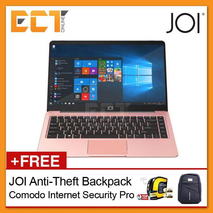 JOI Book 100 14.1 FHD Laptop (N3450 2.20Ghz,128GB SSD+32GB,4GB,W10H) Rose Gold Malaysia
