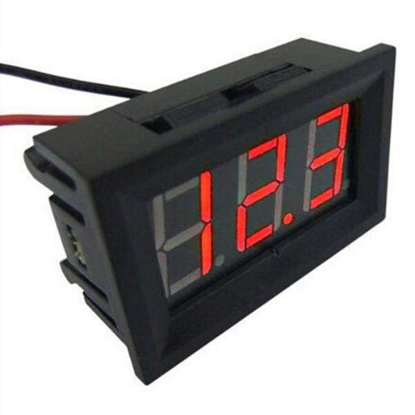 Bảng giá Mini 0.36in DC 2.4V-30V 2-Dây Kỹ Thuật Số LED Màn Hiển Thị Điều Khiển Vôn Kế Chạy Bằng Pin