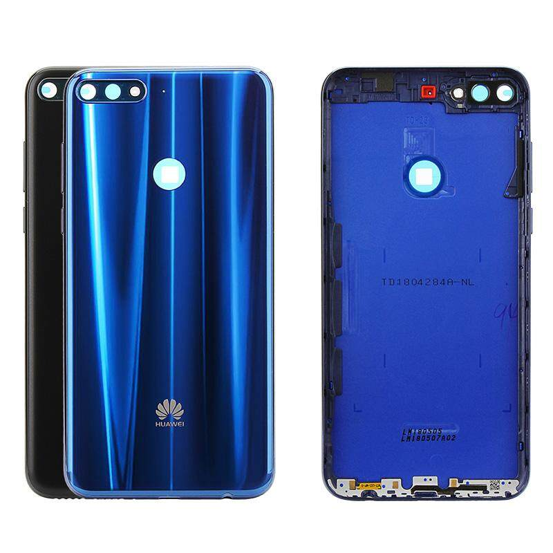 Original For Huawei Nova 2 Lite Back Cover For Huawei Y7 Prime 2018 Rear  Housing Battery Door + Camera Lens Glass + Side Key Replacement Repair  Spare