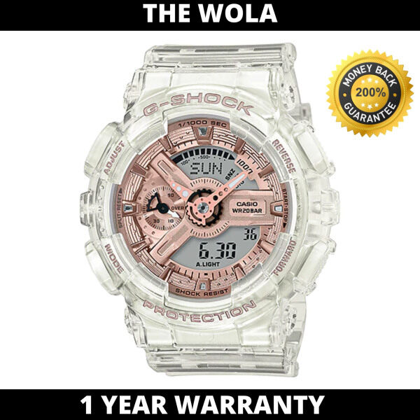 (100% Original G SHOCK) GSHOCK Men Sport Digital Watch GMA-S110SR-7ADR (watch for man / jam tangan lelaki / G SHOCK watch for men / G SHOCK watch / men watch / watch for men) Malaysia