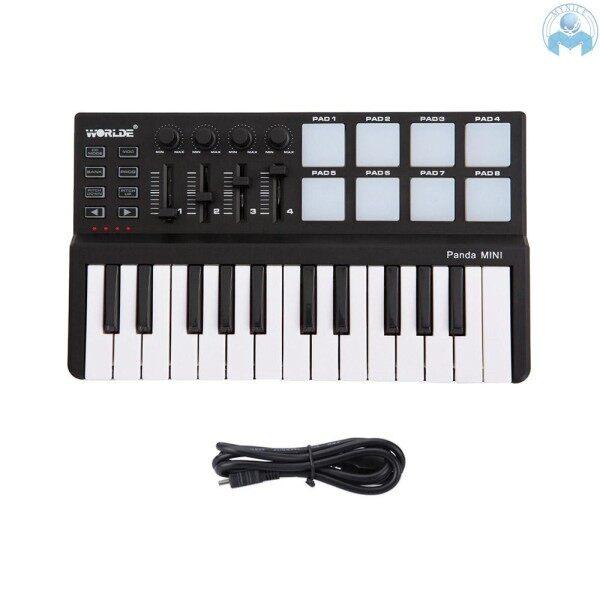 ReadyWorlde Panda mini Portable Mini 25-Key USB Keyboard and Drum Pad MIDI Controller Malaysia