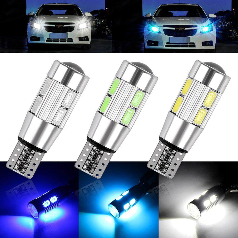 T10 501 W5W CAR SIDE LIGHT BULBS ERROR FREE CANBUS 6 /& 10SMD LED XENON HID WHITE