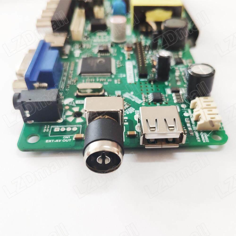 TP V56 PA671 LCD TV 3in1 Driver Board Universal LCD Controller Board TV  Motherboard VGA/HDMI/AV/TV/USB Interface Support 15-27 inch
