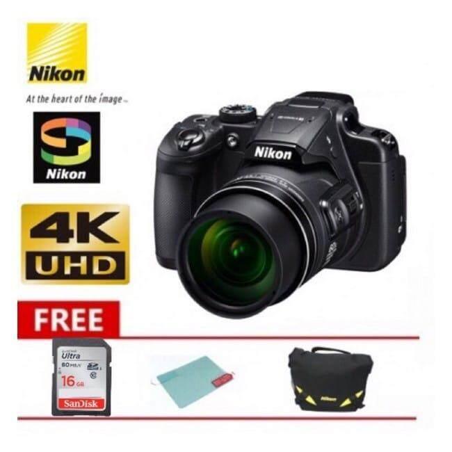 Nikon Coolpix B700 Super Zoom 4k Camera Black