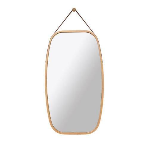Bathroom Mirror Makeup Mirror Wall Hanging Mirror Entrance mirror  By Olive Al Home(74*43cm)