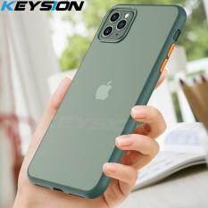 KEYSION Thời Trang Mờ dành cho iPhone 11 Pro 11 Max Pro Chống Sốc Trong Suốt Nắp lưng Điện Thoại cho Iphone 11 11 Pro Max