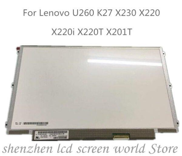 12.5 inch LP125WH2-SLB1 SLB3 LP125WH2-SLT1 for Lenovo thinkpad X220 X230 IPS Display Laptop LCD LED Screen 1366*768 LVDS 40pins Malaysia