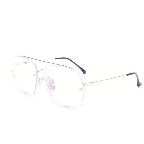 450a583917c3 2019 new sunglasses tide big square sunglasses male Korean version of the  double beam frog mirror