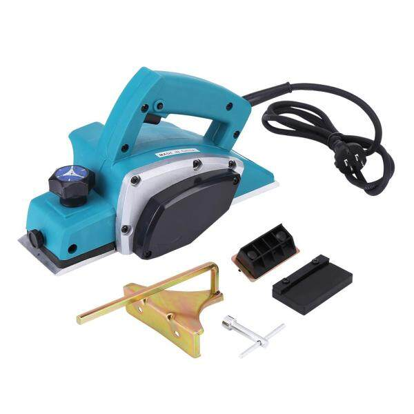 110V Portable Electric Wood Planer Hand Held Woodworking Power Tool for Home Furniture