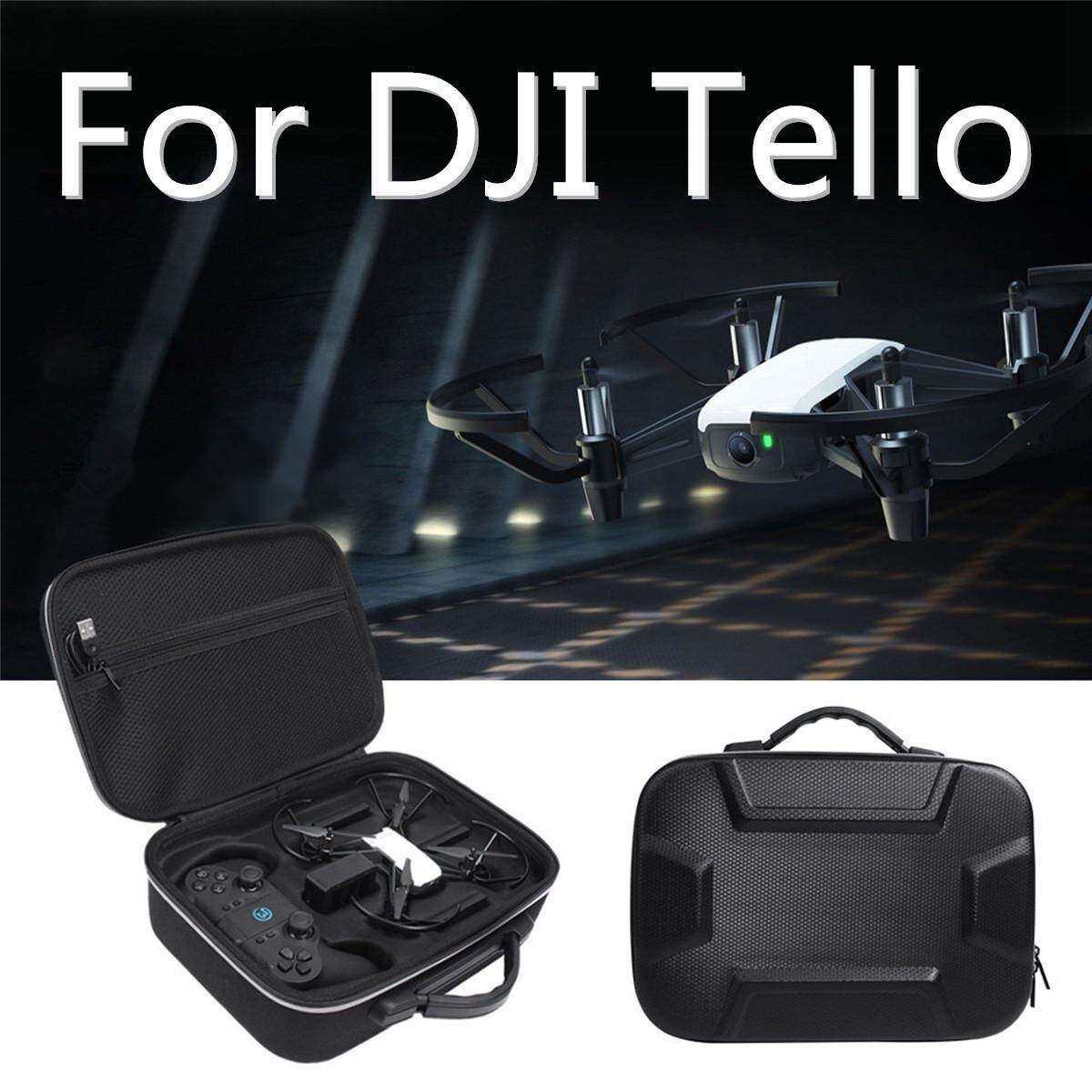 Multifunction Storage Case Carry Bag For DJI Tello Drone & GameSir T1d Remote