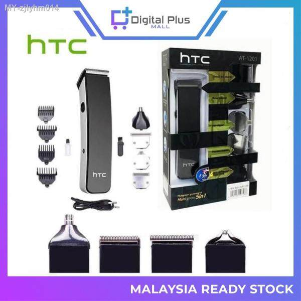 [Ready Stock] ORIGINAL HTC AT-1201 Men Shaver Men Shaving Rechargeable Potong Rambut Mesin Cukur Janggut Pencukur Rambut