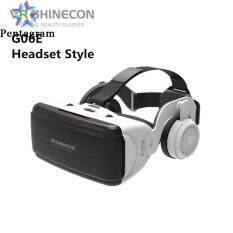 Kính Thực Tế Ảo VR 3D, Mũ Bảo Hiểm Có Tai Nghe VR Google Cardboard Âm Thanh Nổi Cho Điện Thoại Thông Minh IOS Android Bluetooth Rocker