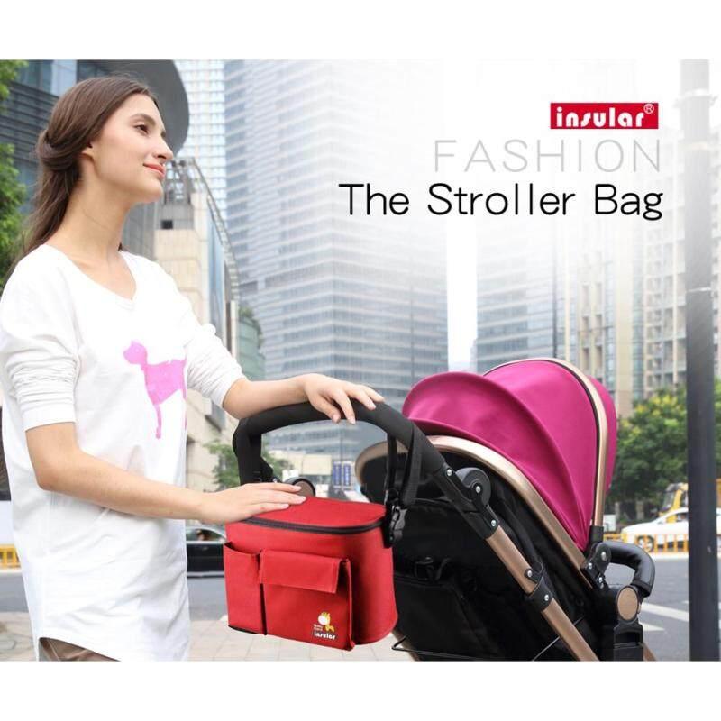 HE Practical Baby Milk Bottle Insulation Bag Infant Stroller Hanging Case Mummy Shoulder Handbag Singapore