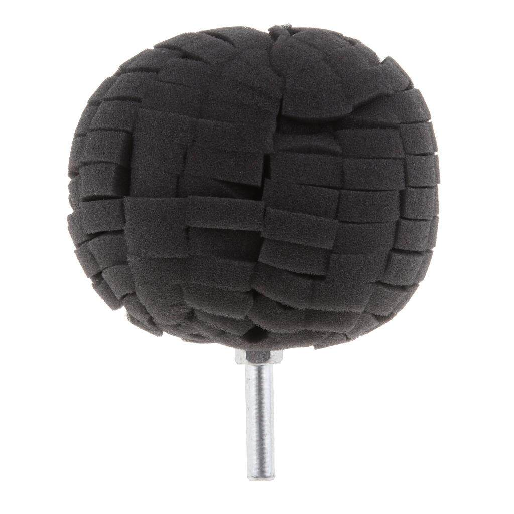 BolehDeals 4pcs Sponge Drill Round Polishing Foam Pads Buffing Wheel for Car Wheel
