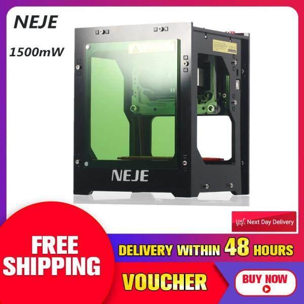 Giá 【Free Vận Chuyển + Đèn Flash Thỏa Thuận 】Neje DK-BL 1500 MW Thu Nhỏ Mini USB Bluetooth Máy Khắc Laze 5V 1A Mới