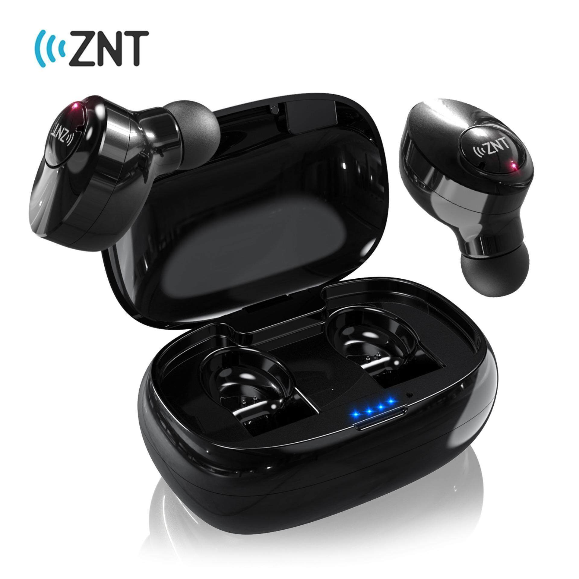 078f5e81ca8 ZNT FireFit Bluetooth 5.0 High Quality Sound True Stereo Earbuds Bluetooth  Earphone with Charging Case-