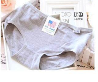 IELGY Quần Lót Màu Trơn, Vải Cotton Cạp Vừa Cho Nữ thumbnail