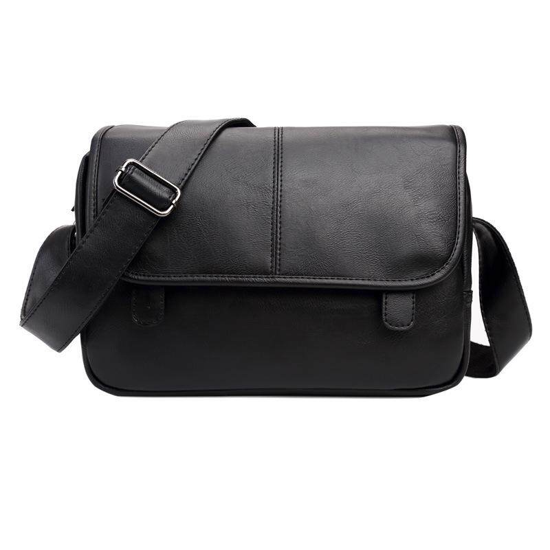 31dff27a13 New Cool Shoulder Messenger Bag For Men Leather Waterproof Casual Sling Bags  For Man