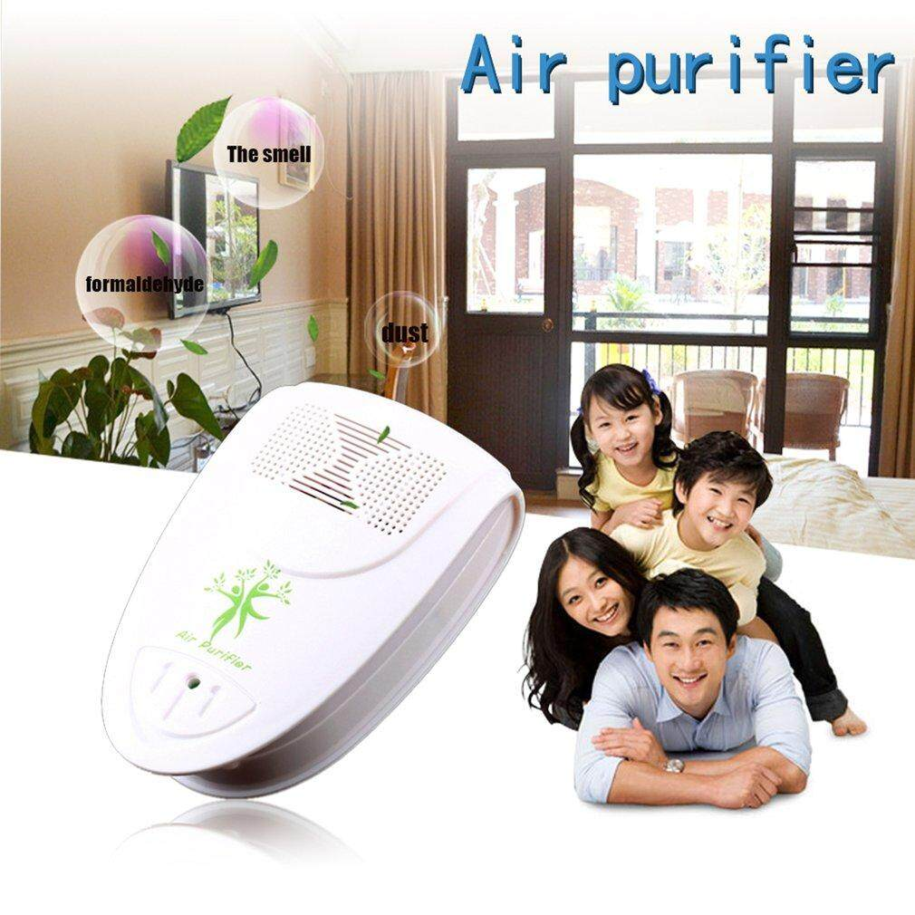 BELLE Mini Indoor Oxygen Bar Ionizer Air Fresh Purifier Freshener Home Wall 110/220V