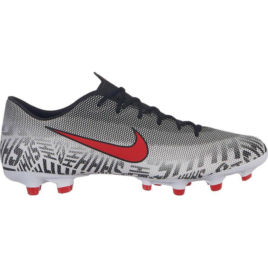 huge discount 5cb93 a2117 Nike Vapor 12 Academy MG FG White Challenge Red-Black Football Shoe Gred 2