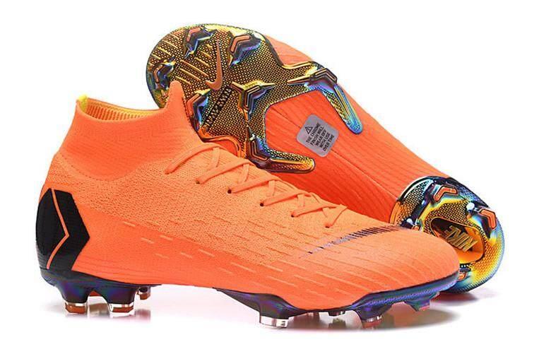 87736a846 Ready Stock 2019 New Original Football League MENS Soccer Shoes Mercuriial Superfly  VI 360 Elite FG