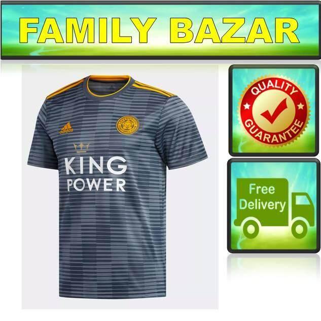 b05a91a15 Ulasan (Ready Stock) 18 19 Leicester City Away jersey EPL 2018-2019 ...