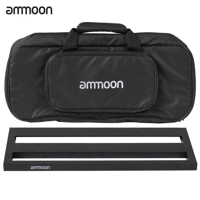 ammoon DB-2 Portable Guitar Pedal Board Aluminum Alloy with Carrying Bag Malaysia
