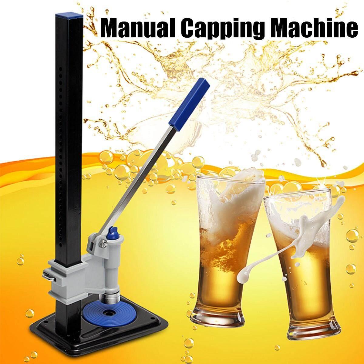 Beer Bottle Capper Auto Lever Bench Capper For Home Brew Keg Soda Crown Caps