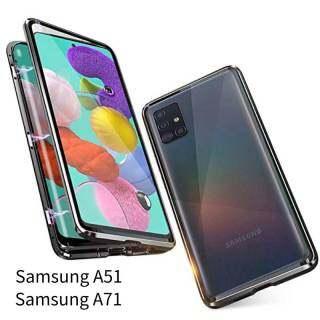 Ốp Chống Sốc Kim Loại Hấp Phụ Từ Tính Thinmon Ốp Cho Samsung A51 Ốp Kính Cường Lực Mỏng, Vỏ Hấp Phụ Nam Châm Khung Nhôm Dành Cho Samsung A71 thumbnail