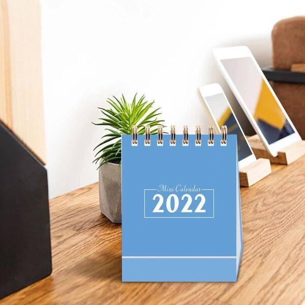 DFHRY Đồ Dùng Văn Phòng Gắn Hai Dây Cho Nam Nữ Trang Ghi Nhớ Kế Hoạch Hàng Tuần Lịch Lật Đứng Sắp Xếp Lịch Để Bàn Lịch 2022 Lịch