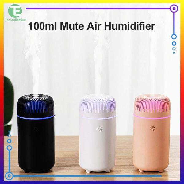 Air Humidifier Care for Skin Mist Maker Spray with Color Night Light for Car Home Office Singapore