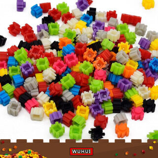 WUHUI 1000 cái DIY Building Block Set Đồ chơi LeGoIng Đồ chơi DIY Creative Classic Brick Creator Đồ chơi giáo dục Đồ chơi trẻ em Đồ chơi cho bé trai Cô gái Tương thích với tất cả các thương hiệu thumbnail