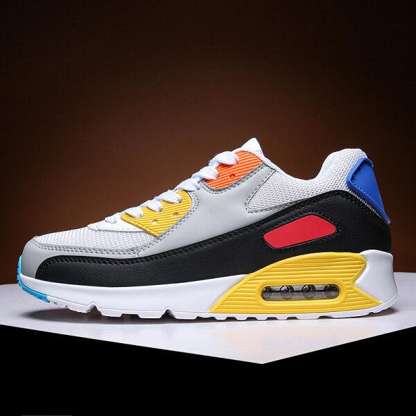 Puq Cặp Đôi Shoes2020 Mới Mùa Hè Nam Thể Thao Rất Thích Kích Thước Lớn: EU36-47 45 46 Nữ Xu Hướng Hàn Quốc Thường Ngày Toàn Năng Hấp Thụ Sốc Chạy Không Đệm