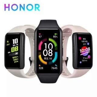 Vòng Đeo Tay Thông Minh Honor Band 6, Tập Thể Dục Tracker SpO2 Vòng Đeo Tay Thông Minh Theo Dõi Nhịp Tim Bluetooth Chống Nước Khi Bơi thumbnail