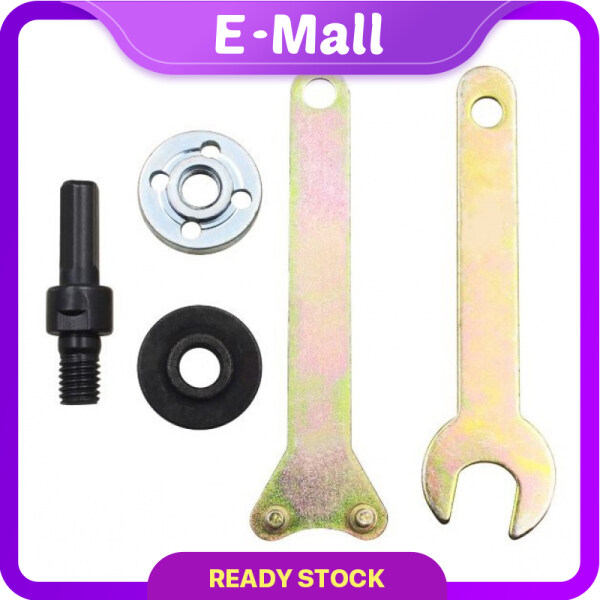 E-MALL 10MM Angle Grinder Connecting Rod Accessories Electric Drill Adaptor Torque Converter Cutting Angle Grinder Polish Batang penghubung penggiling sudut