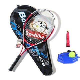 Vợt Tennis Hợp Kim Nhôm Vợt Tennis Chống Sốc Nhẹ Với Túi Đựng Quần Vợt Tập Luyện Và Tay Cầm Quần Vợt thumbnail