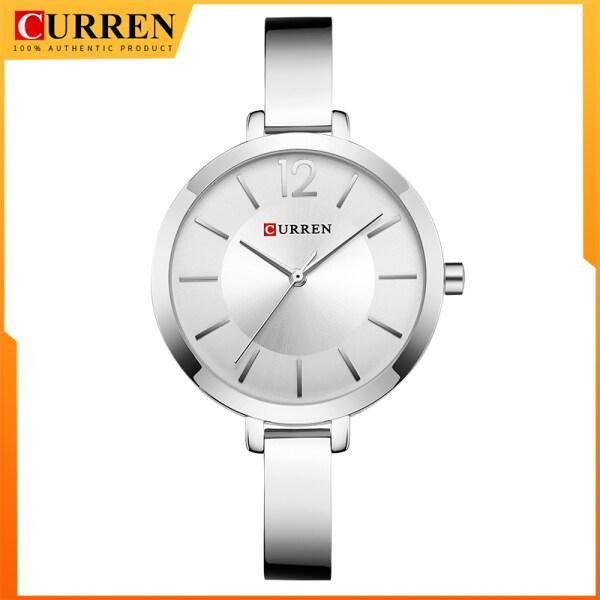 CURREN Fashion Dress Ladies Bracelet Watches Womens Quartz Stainless Steel Band Wristwatch Hot Gift Womens Watch 9012 Malaysia