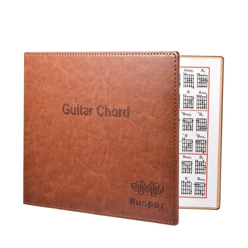 Muspor Guitar Chord Book Chart Portable Paperback Book for Acoustic / Classical / Electric Guitar Specification:MX0037D Malaysia