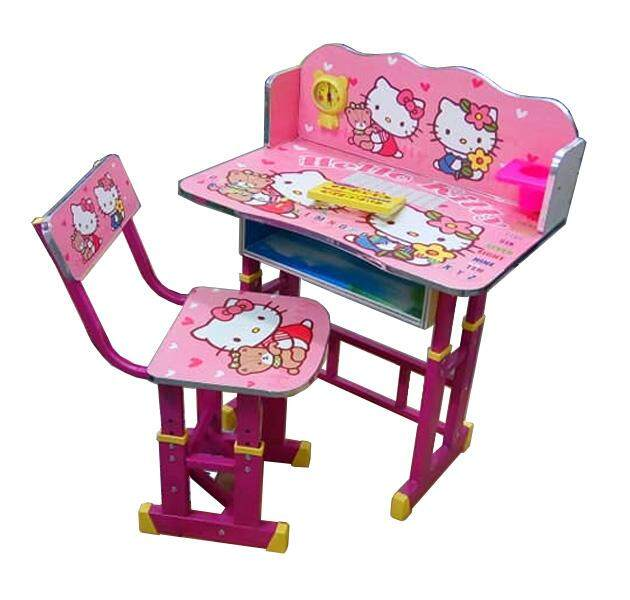 Kids study table desk set