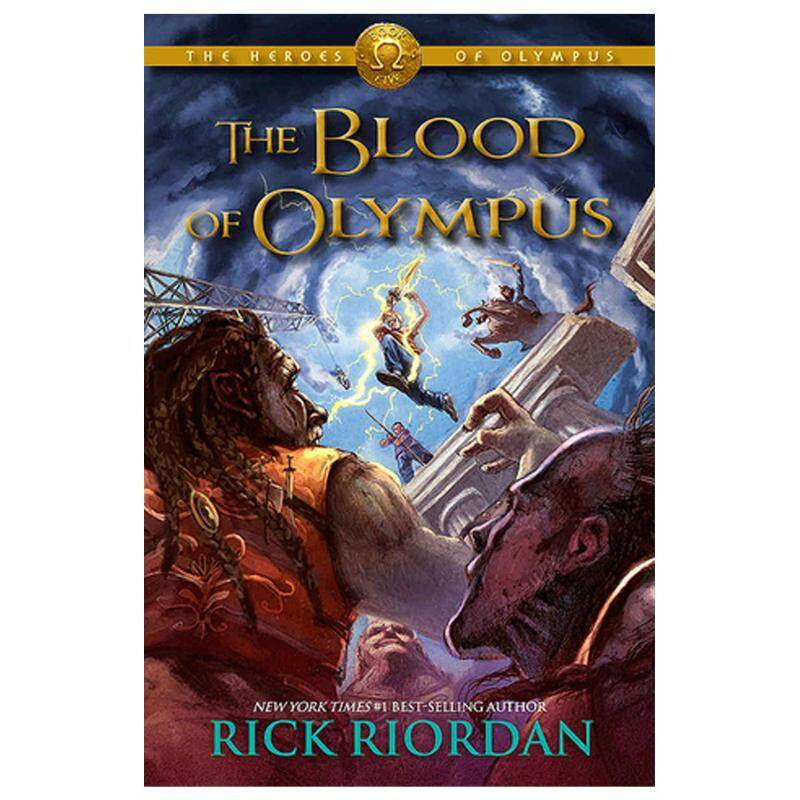 The Blood of Olympus  (The Heroes of Olympus #5)  by Rick Riordan [HARDCOVER] Malaysia