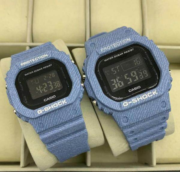 SPECIAL PROMOTION CASI0 G SHOCK_FLORA DIGITAL WATCH SET FOR COUPLE Malaysia