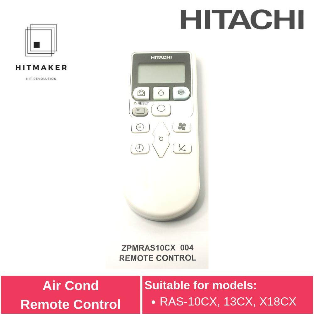 Hitachi Air Cond Remote Control ZPMRAS10CX 004 - Alat Kawalan Jauh Penyaman Udara