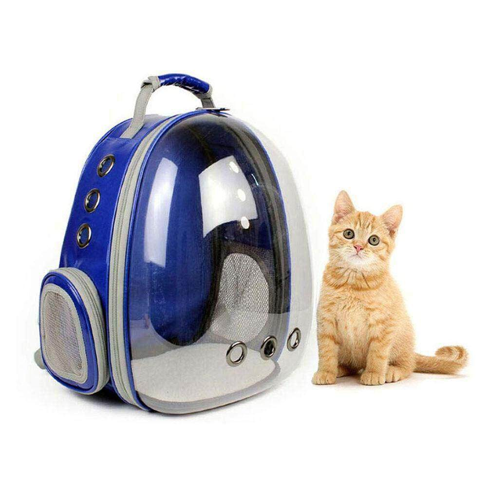 db3fa25253 Portable Pet/Cat/Dog/Puppy Backpack Carrier Bubble, New Space Capsule Design