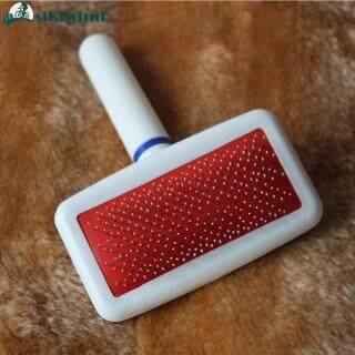 Dụng Cụ Cắt Lông Mèo Chó Con Màu Đỏ Lược Bàn Chải Lấp Lánh, Dụng Cụ Làm Sạch Nhanh, Thú Cưng thumbnail